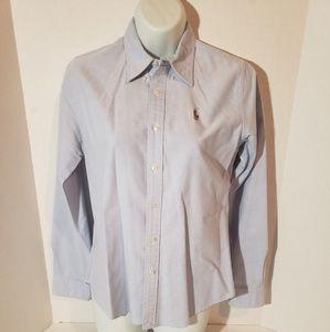 Women's Ralph Lauren Polo button down shirt